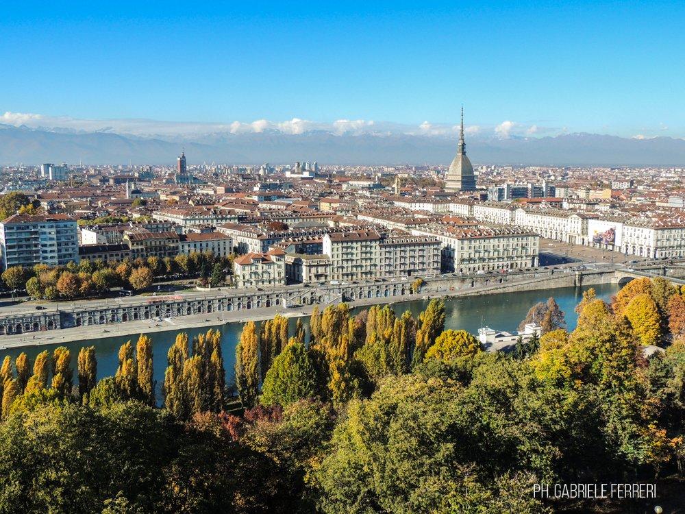 Torino - Panorama dal Monte dei Cappuccini