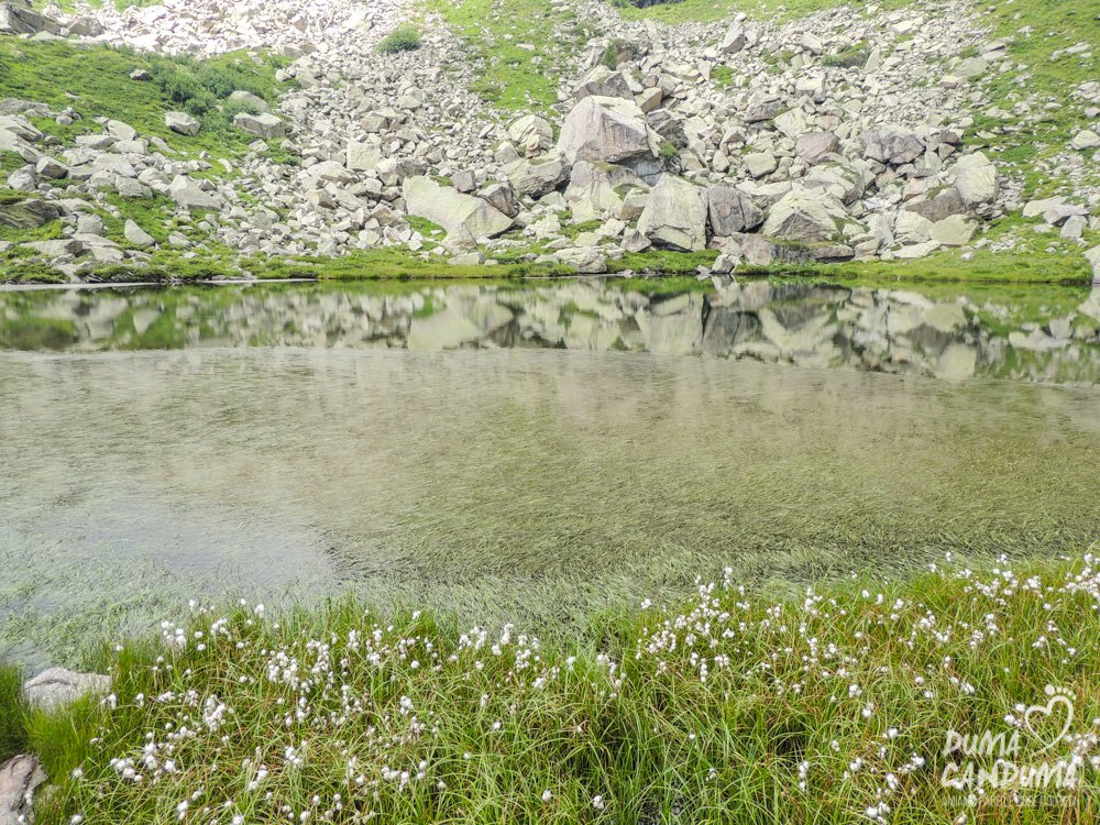 Escursione ai laghi di Sagnasse
