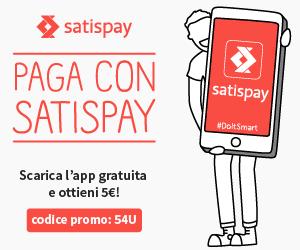 Paga con Satispay!