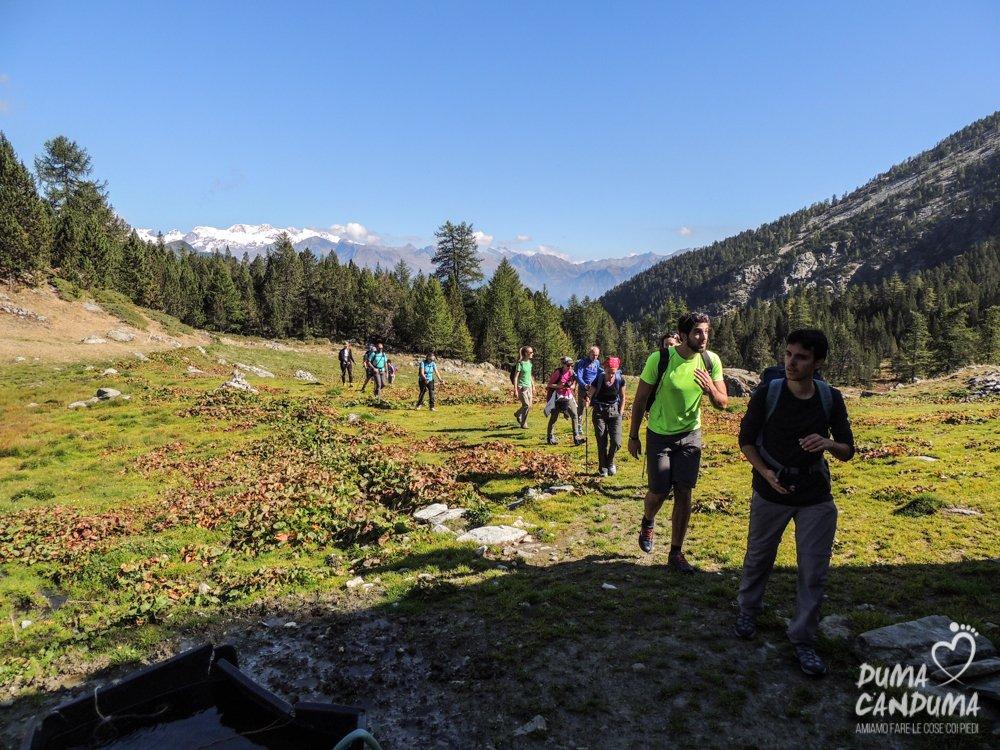 Escursione al Parco Naturale del Mont Avic