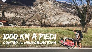 1000 km a piedi contro il neuroblastoma