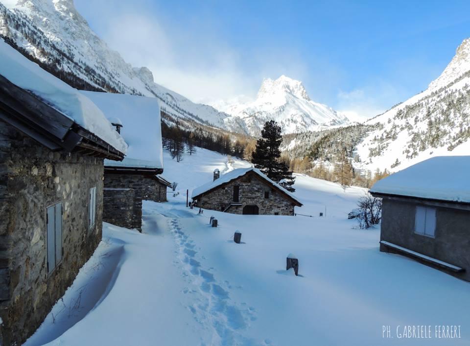 Ciaspolata in Valle Stretta