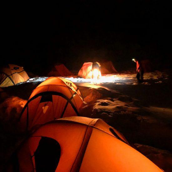 Il Trekking della Notte Artica