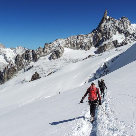 Escursione sul ghiacciaio Vallee Blanche