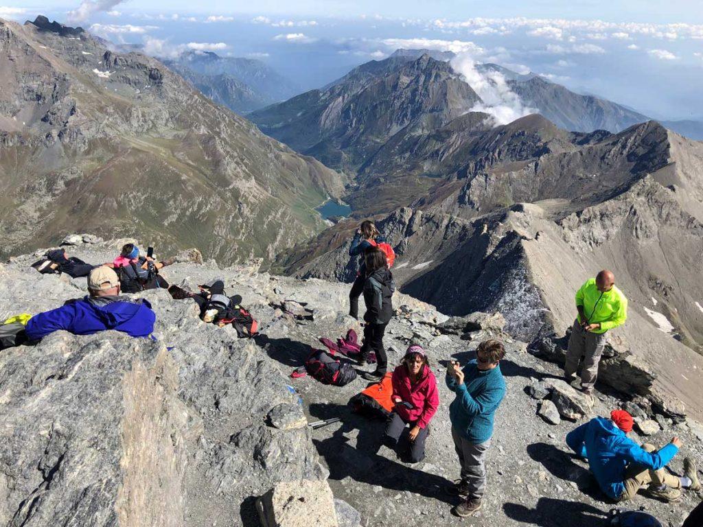 Escursione sul Monte Rocciamelone