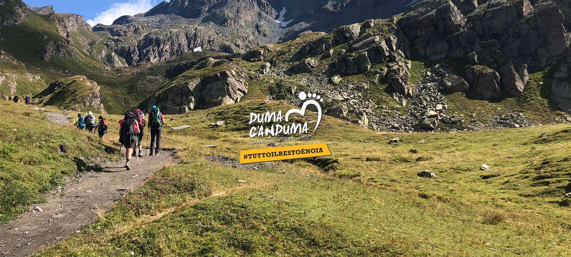 DUMA C'ANDUMA - Trekking e Viaggi a Piedi