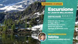 Escursione ai laghi di Bellagarda nel Gran Paradiso