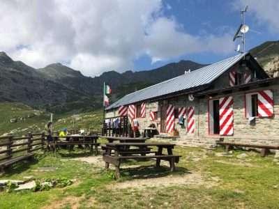 Rifugio della Balma in Val Sangone