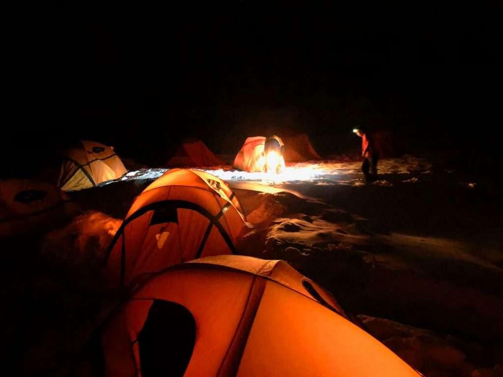 Notti in tenda