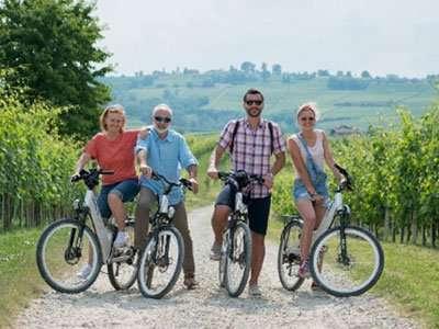 E-bike nella Langhe
