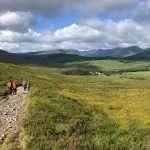 Trekking della West Highland Way in Scozia