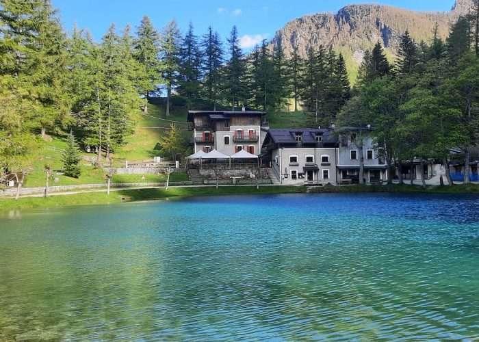 Lago del Laux in Val Chisone