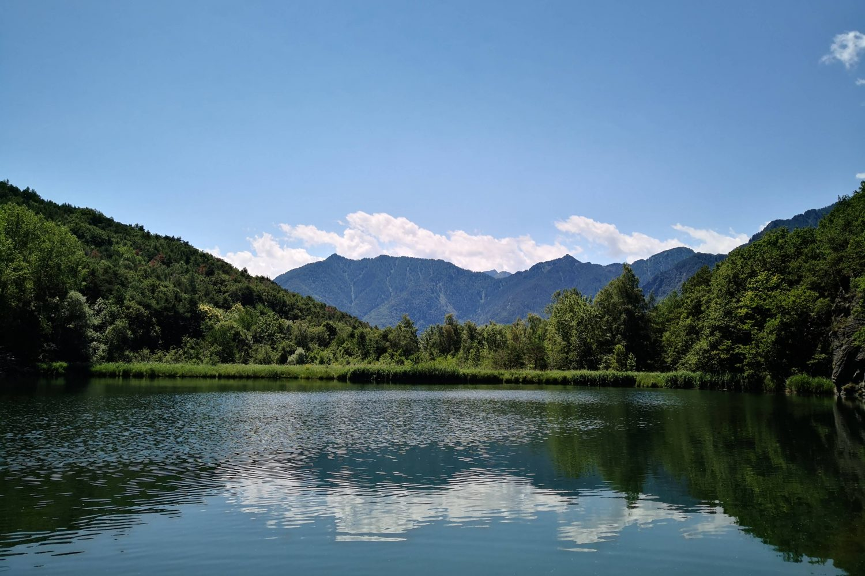 Lago Villa e Isollaz in Val d'Ayas