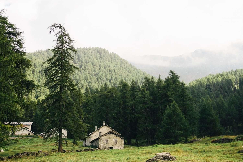 Escursione l'anello degli alpeggi del Frais